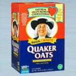 7. Box Of Quaker Oats