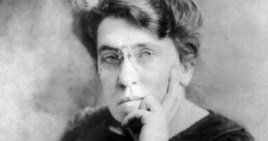 Emma Goldman And The Philosophy of Anarchism