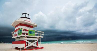 Miami's Coastline And The Climate Change Deniers