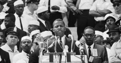 John Lewis And The March On Washinton