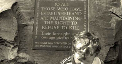 International Conscientious Objectors' Day